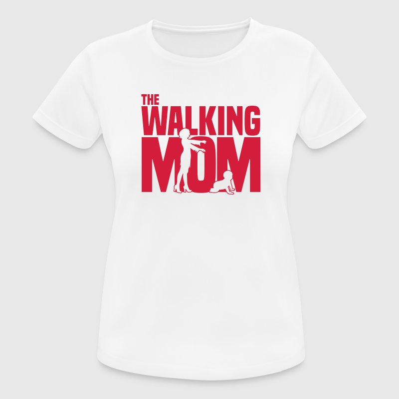 the walking mom T-Shirts - Frauen T-Shirt atmungsaktiv