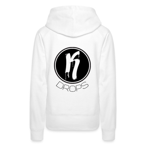 KDrops Female Tank (Black Logo) - Women's Premium Hoodie