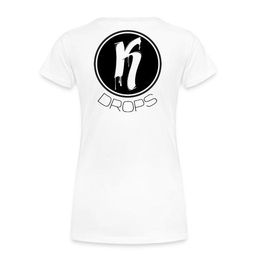KDrops Female Tank (Black Logo) - Women's Premium T-Shirt