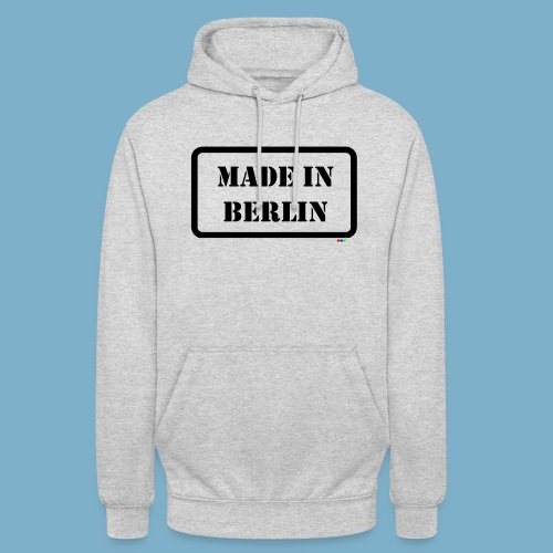 Made in Berlin - Fun Motiv - Unisex Hoodie
