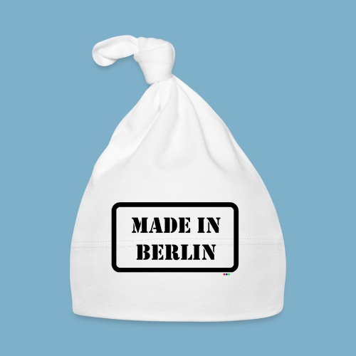 Made in Berlin - Fun Motiv - Baby Mütze