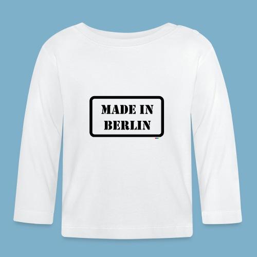 Made in Berlin - Fun Motiv - Baby Langarmshirt