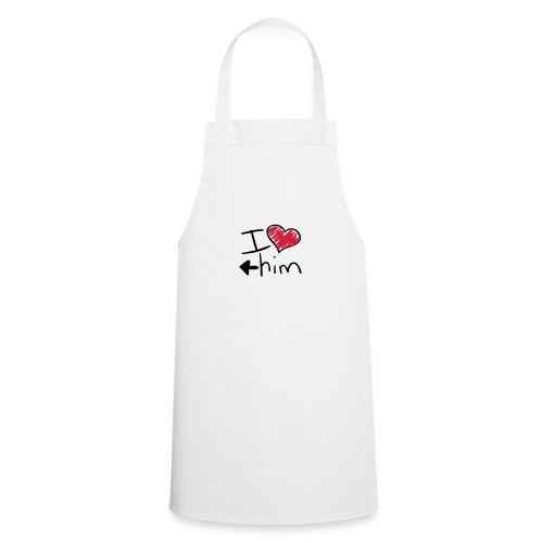 Shorty I love him - Tablier de cuisine