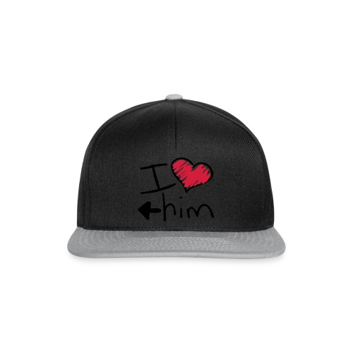Shorty I love him - Casquette snapback