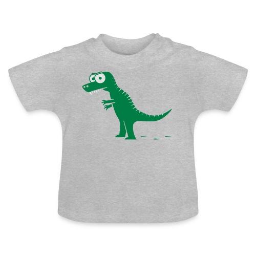 T-Rex mit bösen Zähnen, Dino, Drachen Langarmshirts - Baby T-Shirt