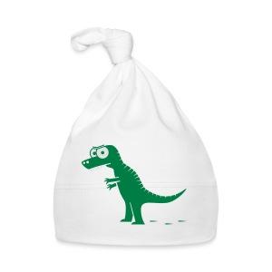 T-Rex mit bösen Zähnen, Dino, Drachen Langarmshirts - Baby Mütze