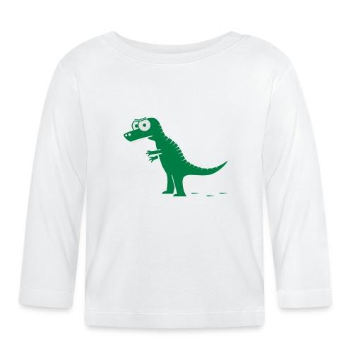 T-Rex mit bösen Zähnen, Dino, Drachen Langarmshirts - Baby Langarmshirt
