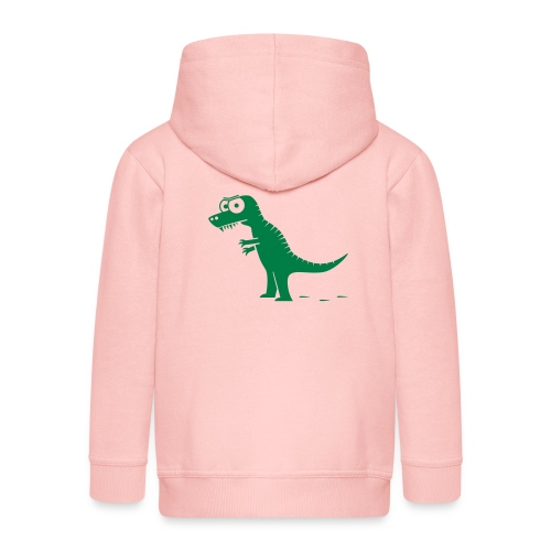 T-Rex König der Dinosaurier, Drache T-Shirts - Kinder Premium Kapuzenjacke