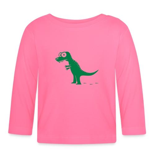T-Rex König der Dinosaurier, Drache T-Shirts - Baby Langarmshirt