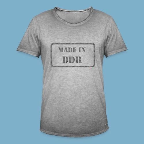 DDR Retro Motiv  - Männer Vintage T-Shirt