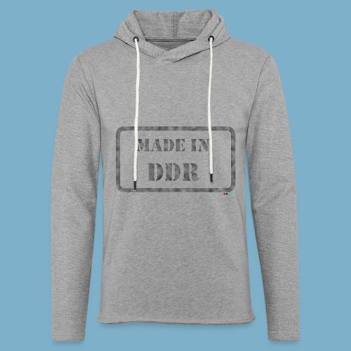 DDR Retro Motiv  - Leichtes Kapuzensweatshirt Unisex