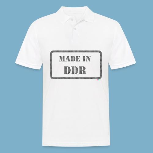 DDR Retro Motiv  - Männer Poloshirt