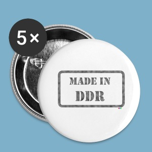 DDR Retro Motiv  - Buttons klein 25 mm