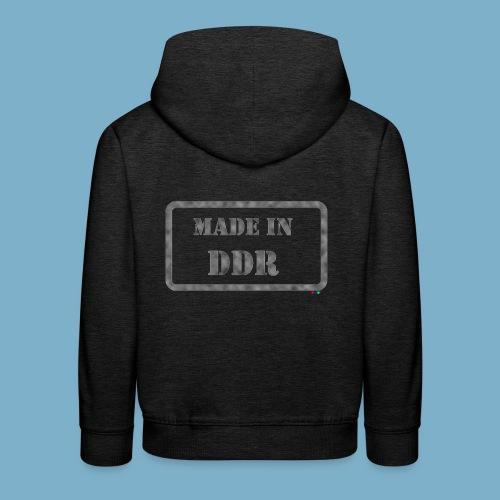 DDR Retro Motiv  - Kinder Premium Hoodie