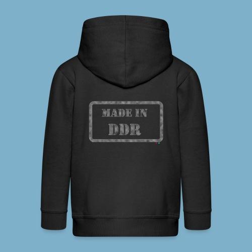 DDR Retro Motiv  - Kinder Premium Kapuzenjacke
