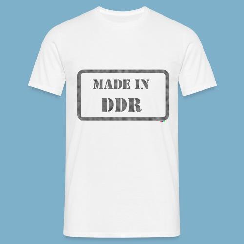 DDR Retro Motiv  - Männer T-Shirt