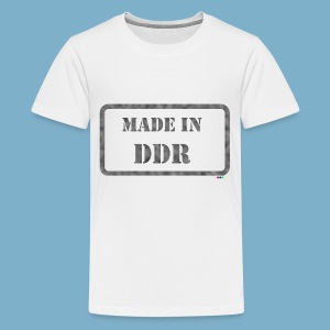 DDR Retro Motiv  - Teenager Premium T-Shirt