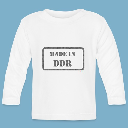 DDR Retro Motiv  - Baby Langarmshirt
