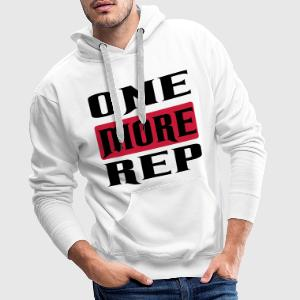one more rep T-Shirts - Männer Premium Hoodie