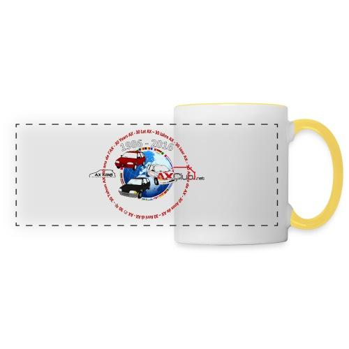 Mug 30 ans de l'AX - Mug panoramique contrasté et blanc