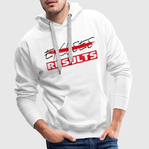 results black red T-Shirts - Männer Premium Hoodie
