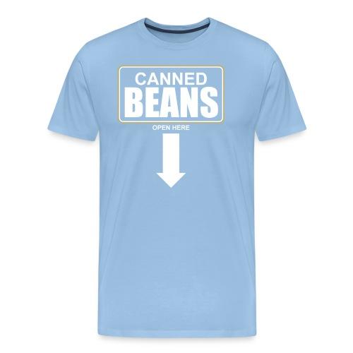 Canned Beans Shirt - Männer Premium T-Shirt