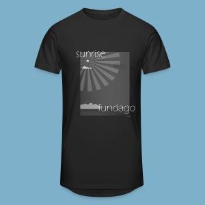 Sunrise fundago - Männer Urban Longshirt