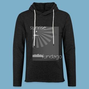 Sunrise fundago - Leichtes Kapuzensweatshirt Unisex
