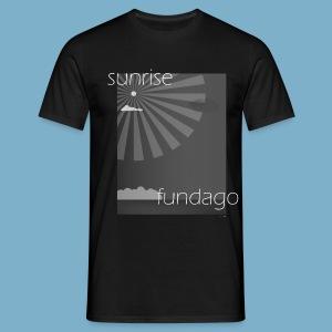 Sunrise fundago - Männer T-Shirt