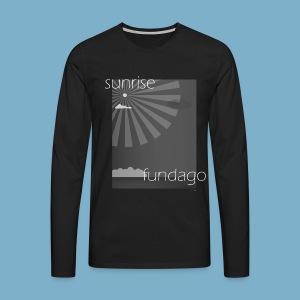 Sunrise fundago - Männer Premium Langarmshirt