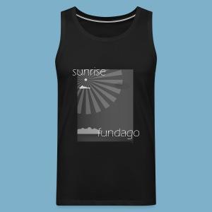 Sunrise fundago - Männer Premium Tank Top