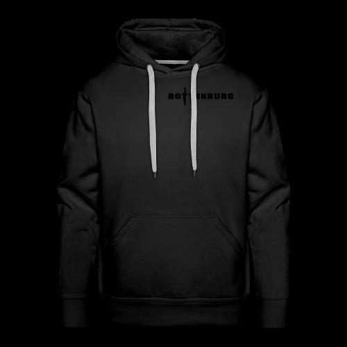 Schwarz Rot Weiß - Männer Premium Hoodie