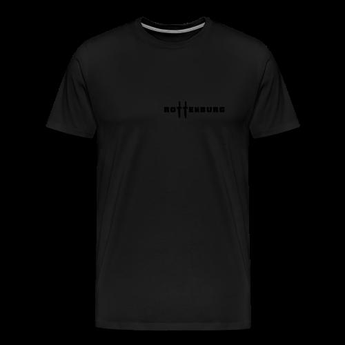 Schwarz Rot Weiß - Männer Premium T-Shirt