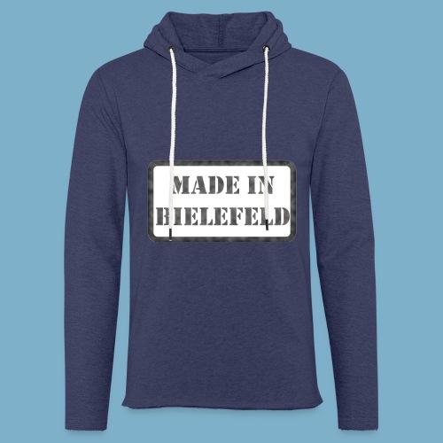 Made in Bielefeld - Leichtes Kapuzensweatshirt Unisex