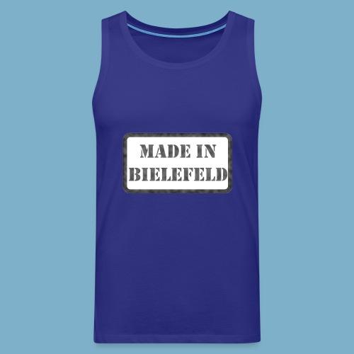 Made in Bielefeld - Männer Premium Tank Top