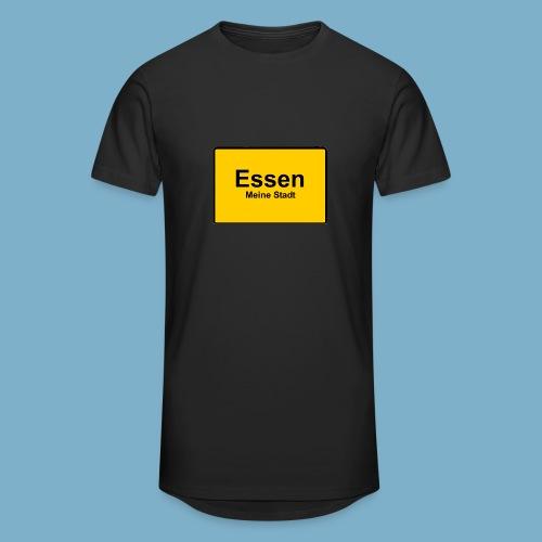City Motiv Ortsschild Essen - Männer Urban Longshirt