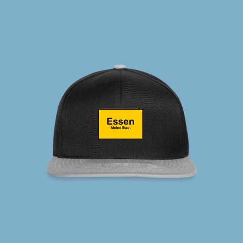 City Motiv Ortsschild Essen - Snapback Cap