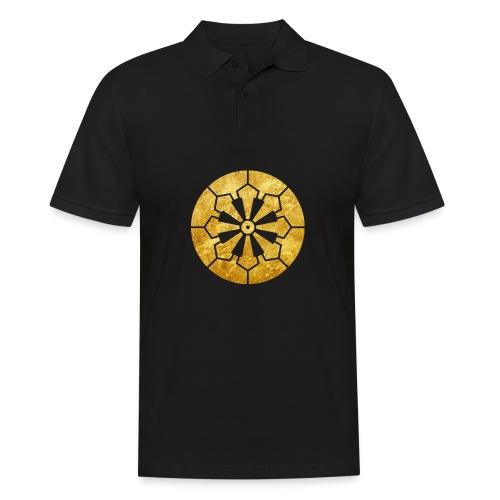 Sanja Matsuri Komagata mon gold - Men's Polo Shirt
