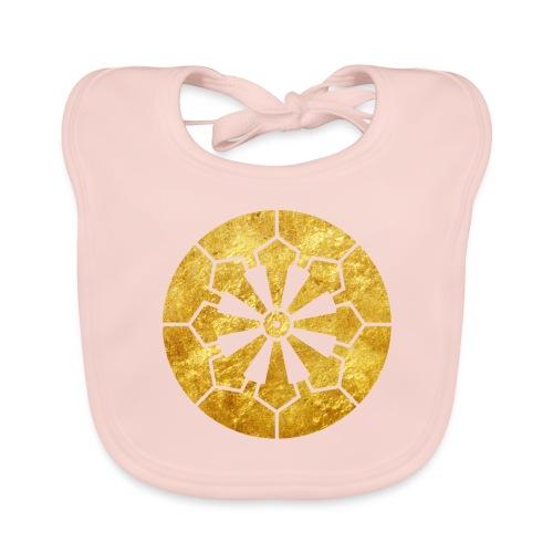 Sanja Matsuri Komagata mon gold - Baby Organic Bib