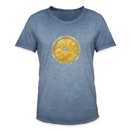Seishinkai Karate Kamon in gold - Men's Vintage T-Shirt