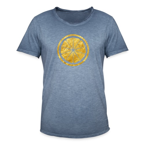 Seishinkai Karate Kamon in gold - Men's Vintage T-Shirt