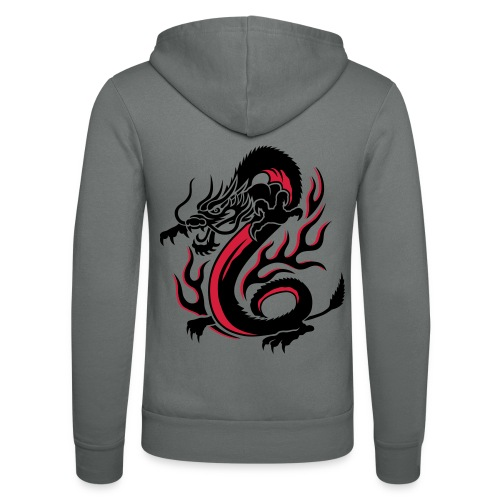 Dragon T-shirt - Veste à capuche unisexe Bella + Canvas