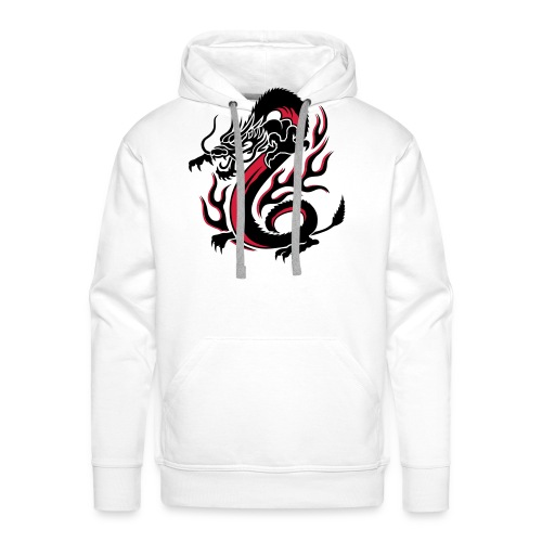 Dragon T-shirt - Sweat-shirt à capuche Premium pour hommes