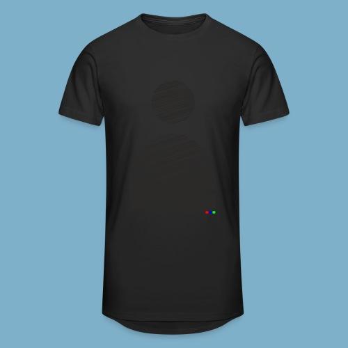 silhouette Mann - Männer Urban Longshirt