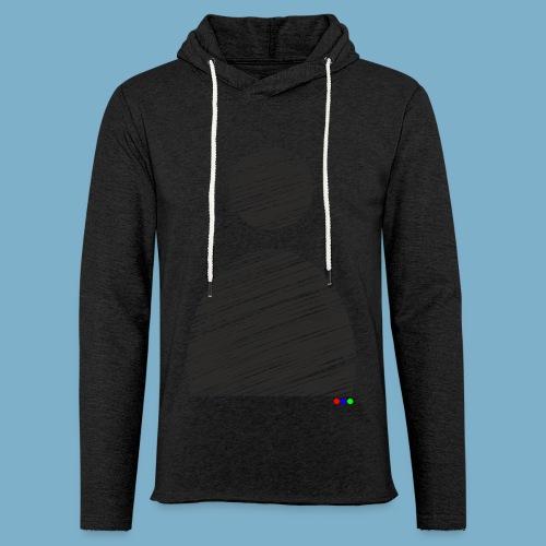 silhouette Mann - Leichtes Kapuzensweatshirt Unisex