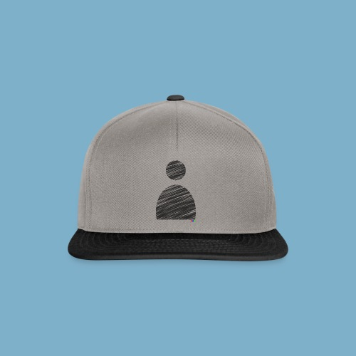 silhouette Mann - Snapback Cap