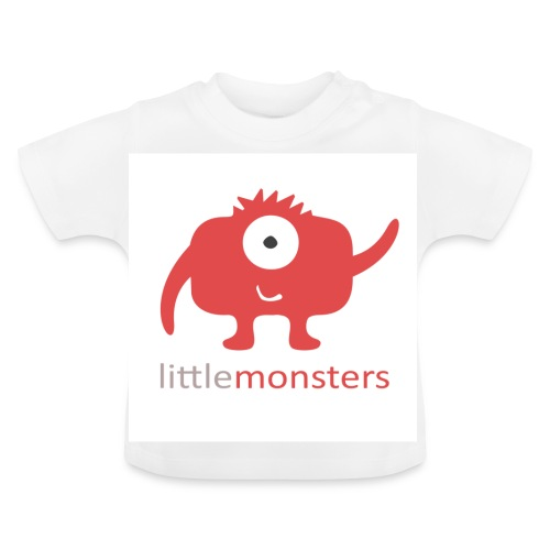 Little Monsters Baseball Tee - Baby T-Shirt