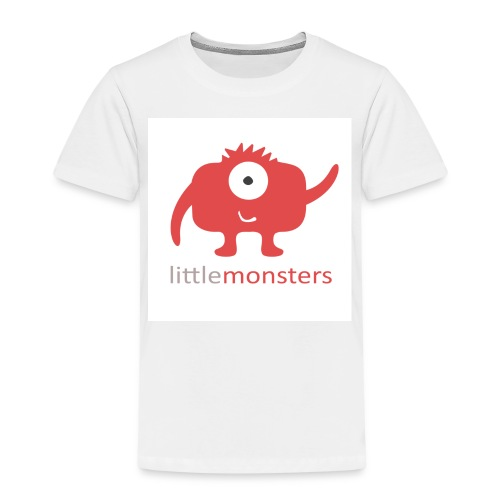 Little Monsters Baseball Tee - Kids' Premium T-Shirt