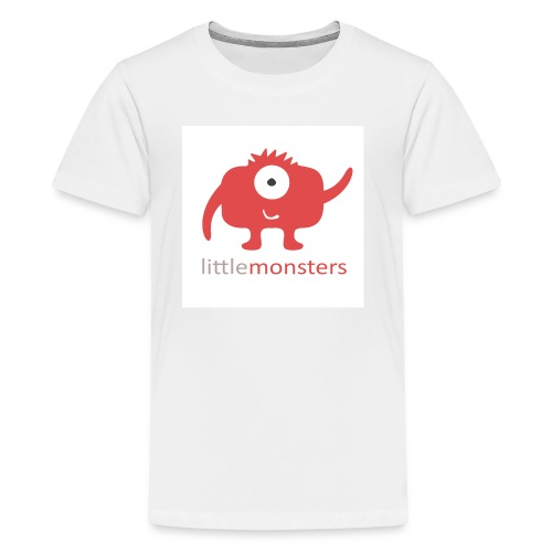 Little Monsters Baseball Tee - Teenage Premium T-Shirt