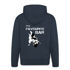 My Favourit Bar Brazillian Jiu Jitsu - Men's Premium Hooded Jacket